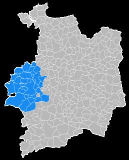 Communes d'intervention de Neature sur Montauban-de-Bretagne et l'Ille et Vilaine